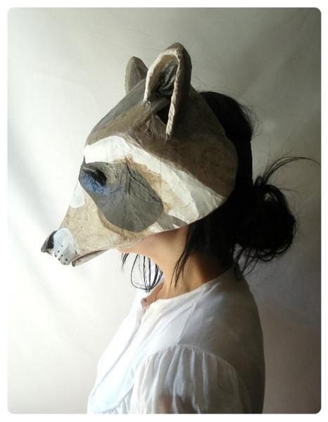 Captain Cat aptain Cat paper mache masks