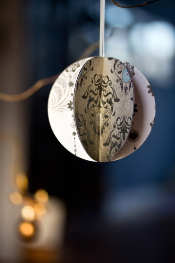 Nathalie Graafland Paper and Print Christmas ornament