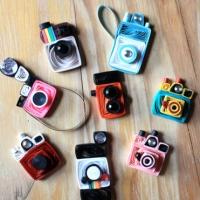 Handmade paper mini vintage cameras