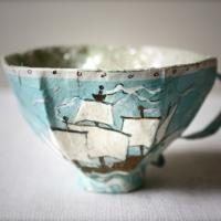 DIY paper teacups