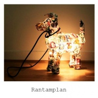 Marie Montagnier's adorable dog lamps