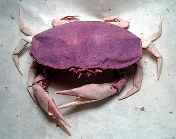 Origami crab 1