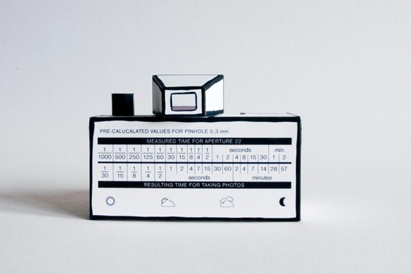 Rubikon pinhole camera