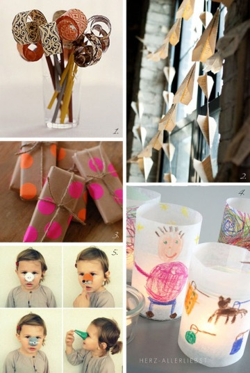 Paper party via Passion for Paper and Print blog