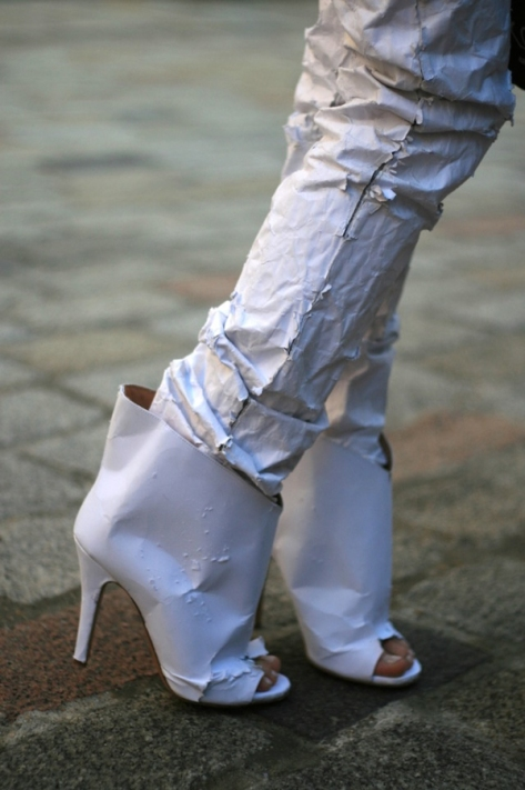 Paper Shoes by Martin Margiela