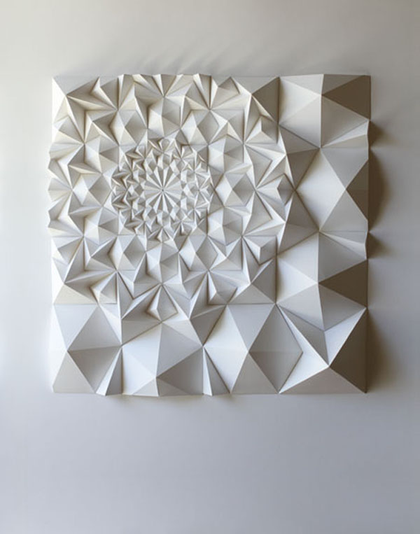 Matt shlian s paper engineering passion for paper print for Art made of paper