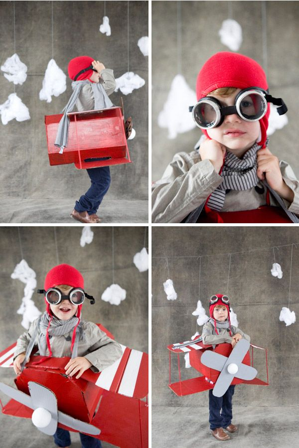 paper airplane costume, halloween