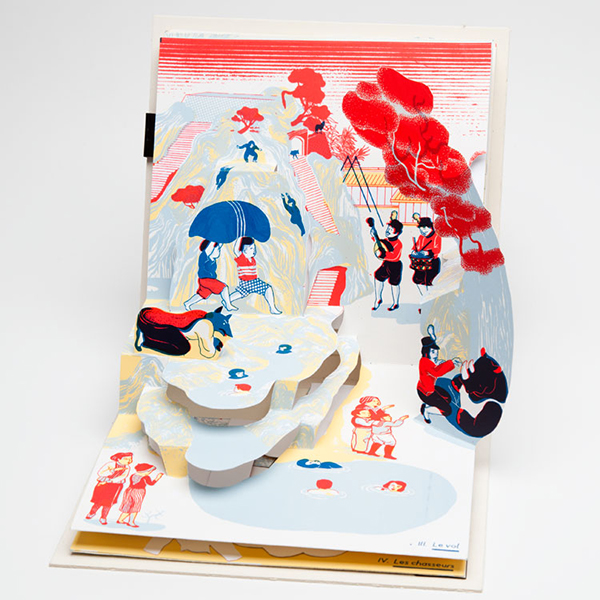 Mauvais tours pop up book