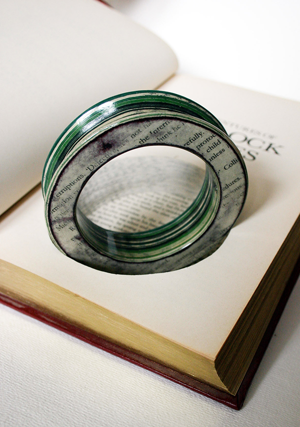 Jeremy May's paper jewellery 1