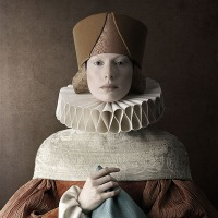 Christian Tagliavini's cardboard women
