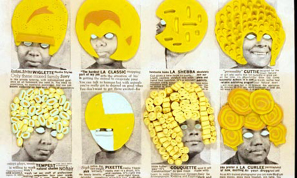 Ellen Gallagher collage and paper art