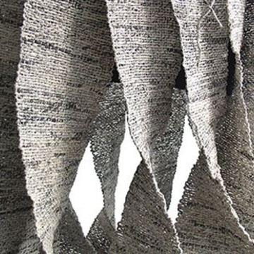 Ivano Vitali newspaper yarn