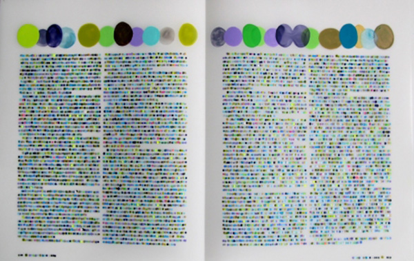 Lauren Di Cioccio color codification dot drawings