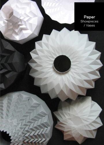 Romy Kuhne paper vases