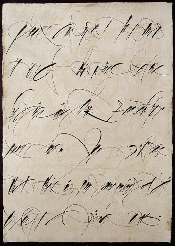 Brody Neuenschwander calligraphy