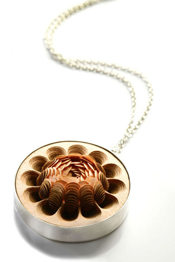Li-Chu Wu, paper jewellery