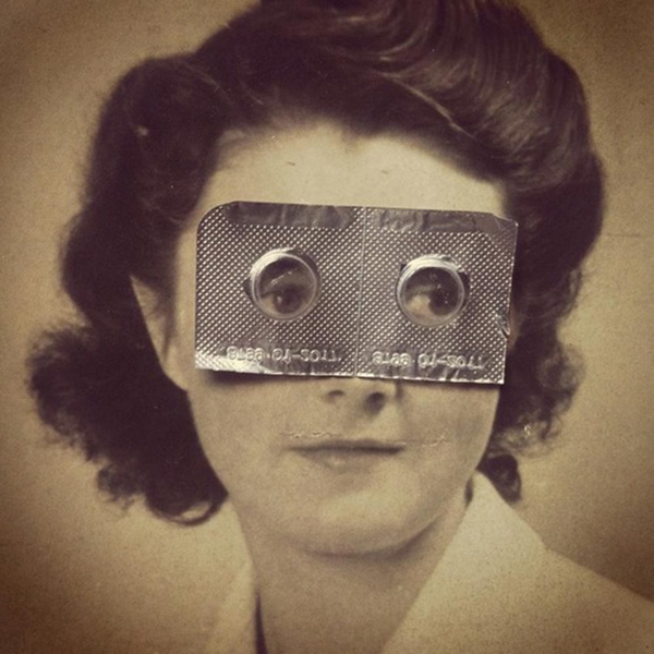 Susana Blasco's Antiheroes collage