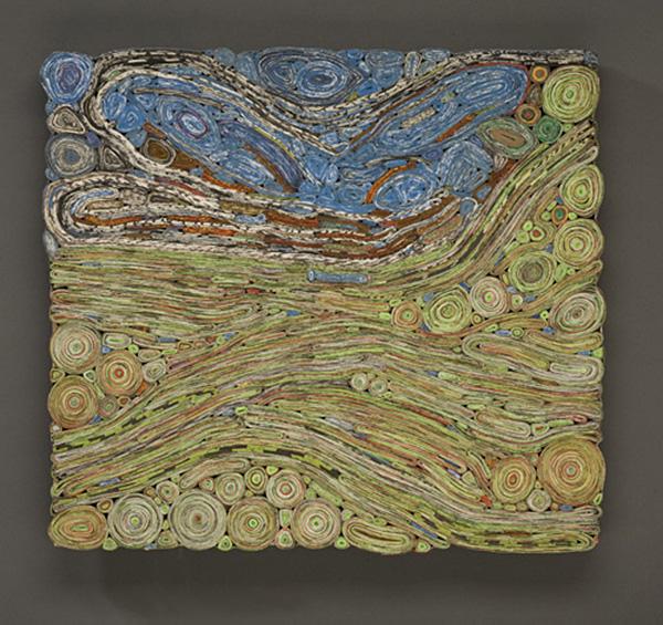 Will Marino paper art