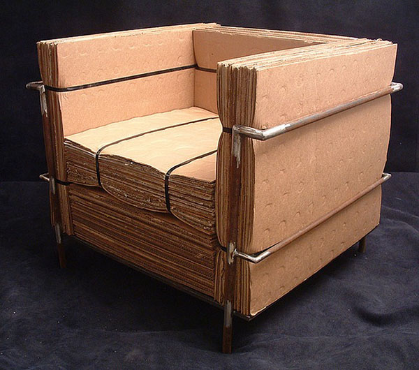 Cardboard Le Corbusier