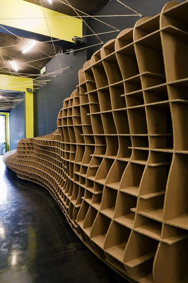 Cardboard Storage