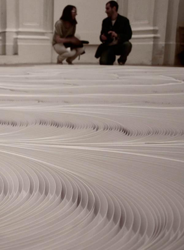 Daniele Papuli's 10,000 paper strips