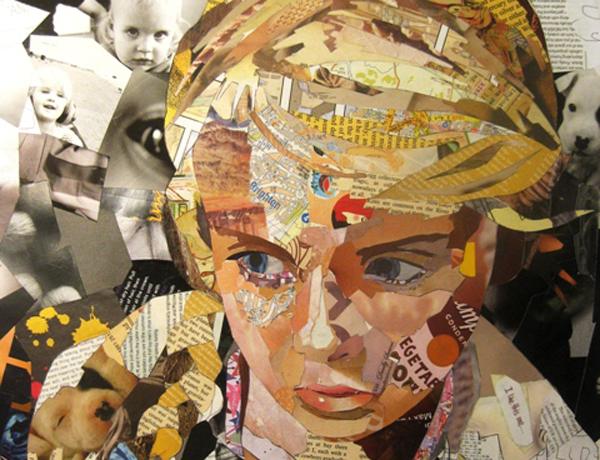 Patrick Bremer's Collage Portraits – Passion For Paper & Print