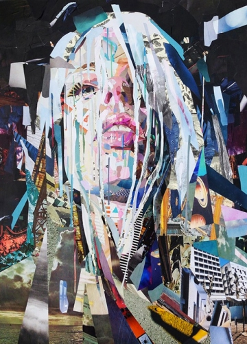 Patrick Bremer's collage portraits