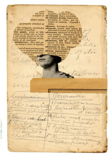 David Wallace's collages