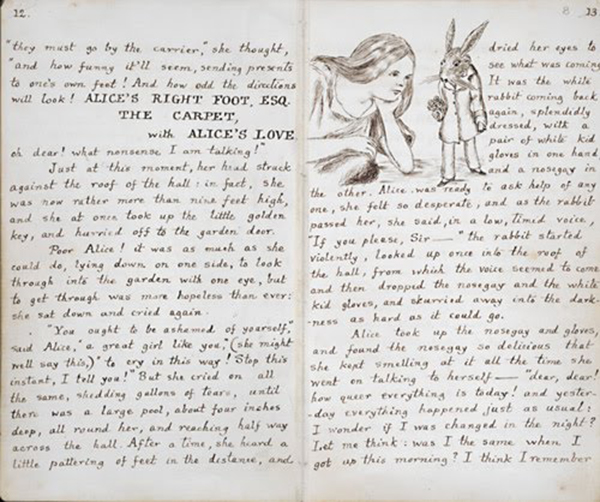 lewis carroll thesis The lewis carroll society was formed in 1969 to promote interest in the life and works of charles dodgson (lewis carroll.