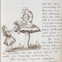 Alice – The original manuscript