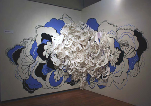 Bethany Robertson paper sculpture