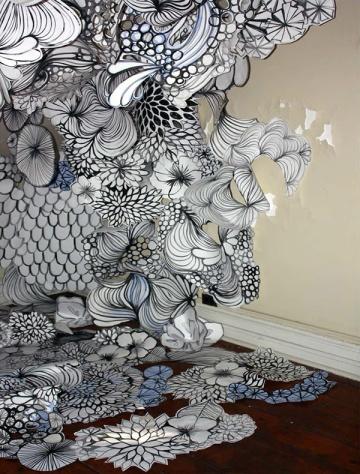 Bethany Robertson paper sculpture