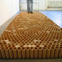 Tamiko Kawata's discarded materials