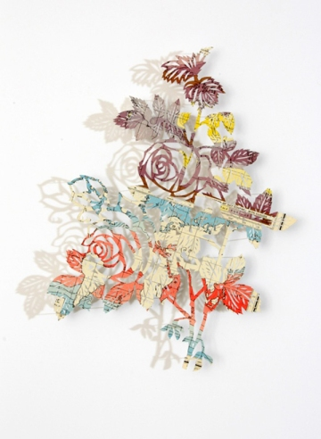 Claire Brewster paper cutting